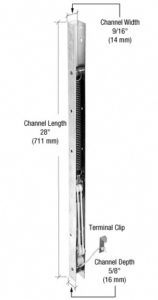 channel or window balance makes window go up and down easy