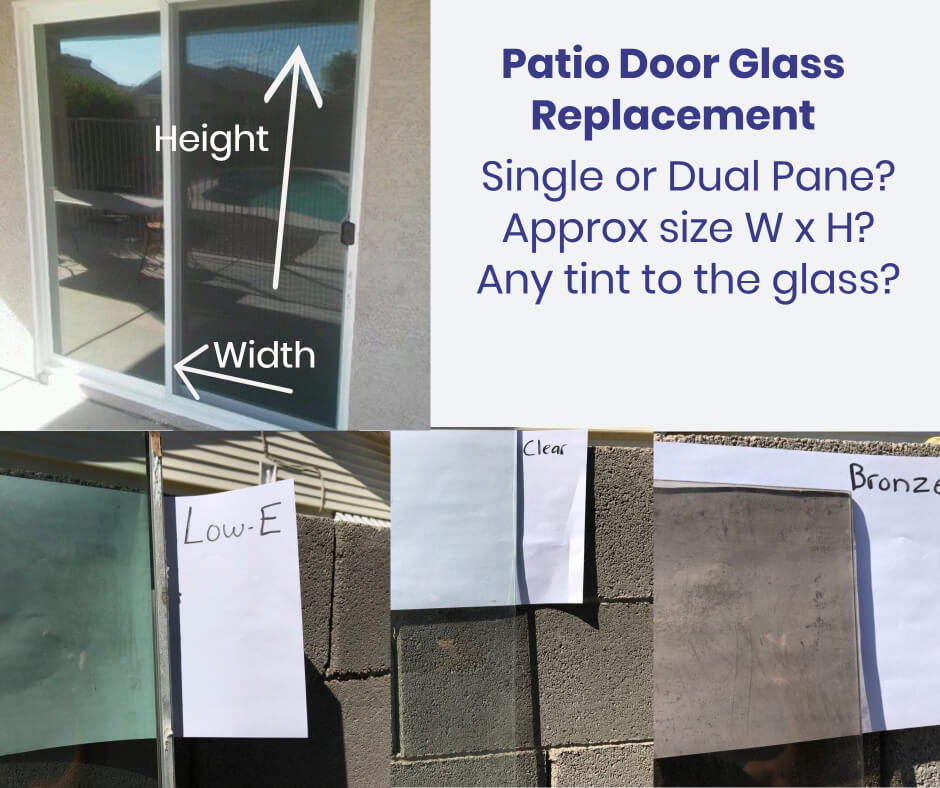 Can You Replace Patio Door Glass The Same Day
